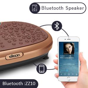 Eilison Vibration Plate Bluetooth Speaker