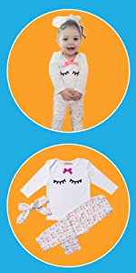 Summer Newborn Clothes Baby Girl Clothes Sets