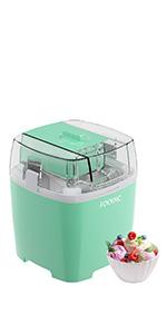 homemade ice cream machine