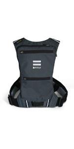 Classy Black, M-L-XL M-L-XL Classy Black Details about  / Minimalist Running Pack