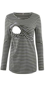 Glamix Nursing Shirt Long Sleeve