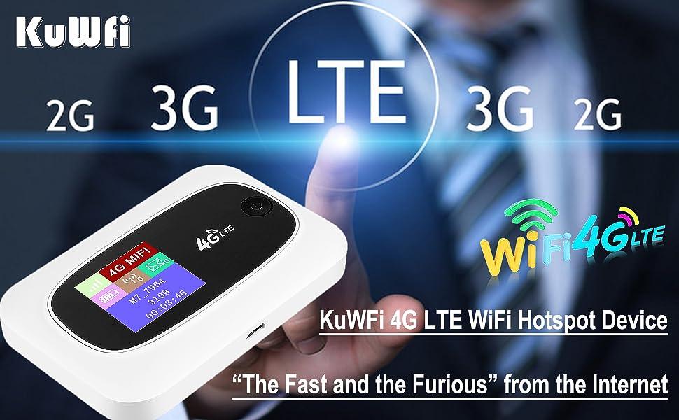 4G LTE Mobile WiFi Hotspot Travel Router