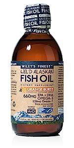 Wiley's Finest Omega-3 Orange Burst