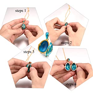 How to open the locket
