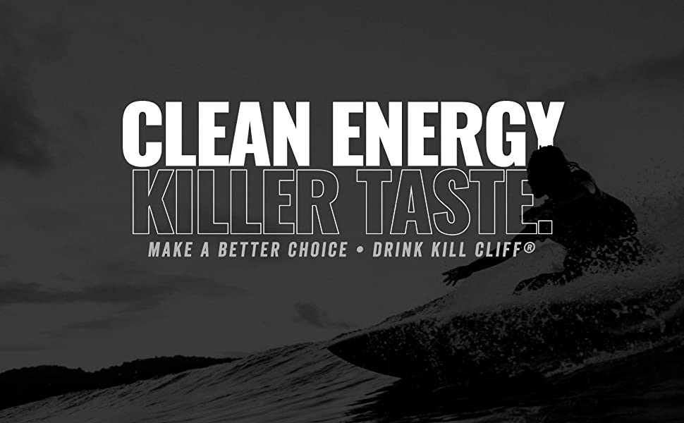 Kill Cliff Clean Energy Drinks