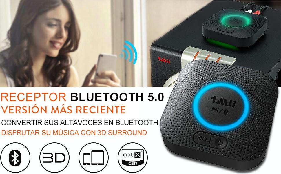 receptor bluetooth de audio para altavoces