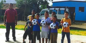 missions trips, biggz, soccer balls, Operation Christmas Child