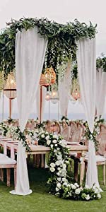 Sheer Chiffon Curtains