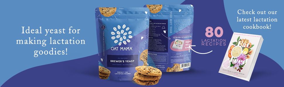 lactation mama oat yeast brewers