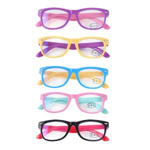 5 packs glasses, 5 packs glasses for girl,blue light glasses for kids,