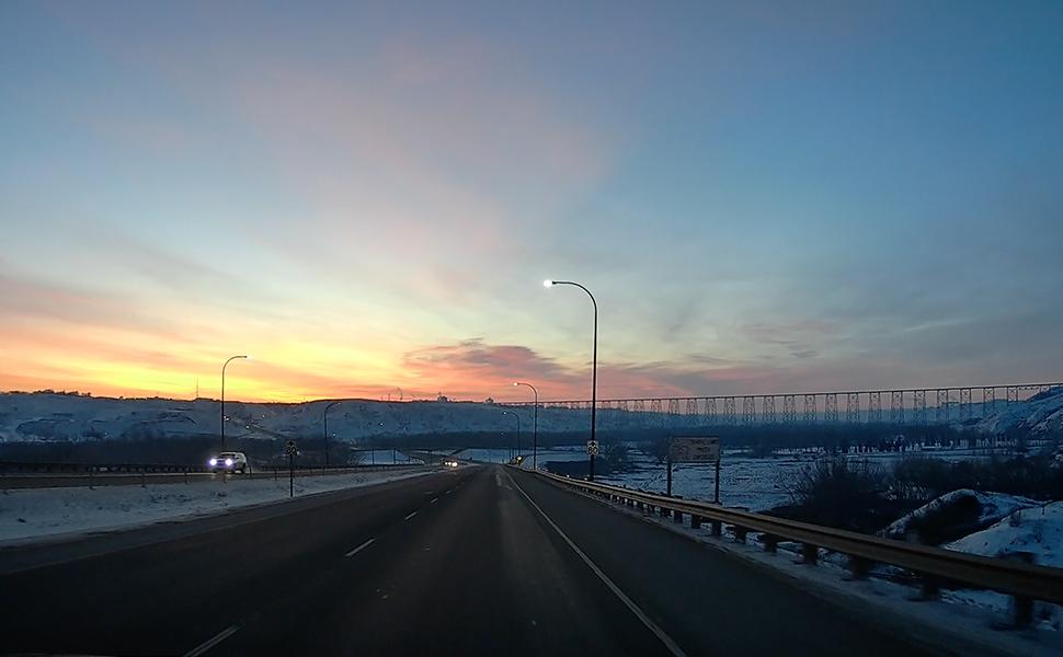 street guardian clea image sun rise capture road traffic