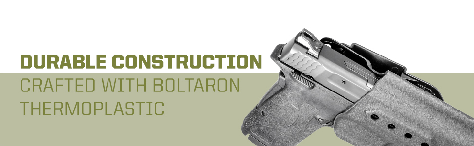 Durable Construction crafted with boltaron thermoplastic