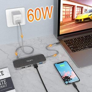 Estación de acoplamiento USB C