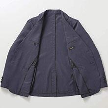 涼しい シアサッカー ジャケット GV-030 GV-031 春 夏 しおり型ルーペ付き
