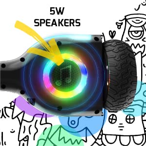BLUETOOTH SPEAKERS + APP