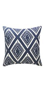 navy throw pillows 18x18