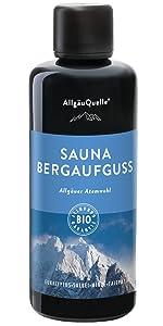 Sauna Allgäuer Atemwohl Bergaufguss