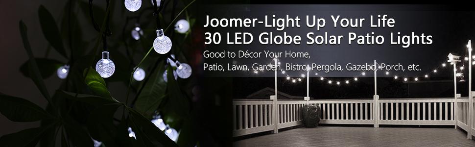 Solar Globe String Lights