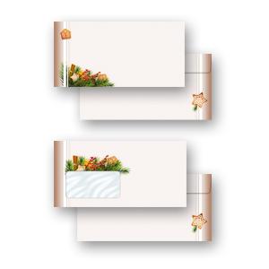 DIN A4 Format 20 Blatt Motiv-Briefpapier LEBKUCHENZEIT