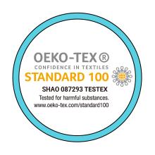 Oeko-Tex Standard 100 Tested