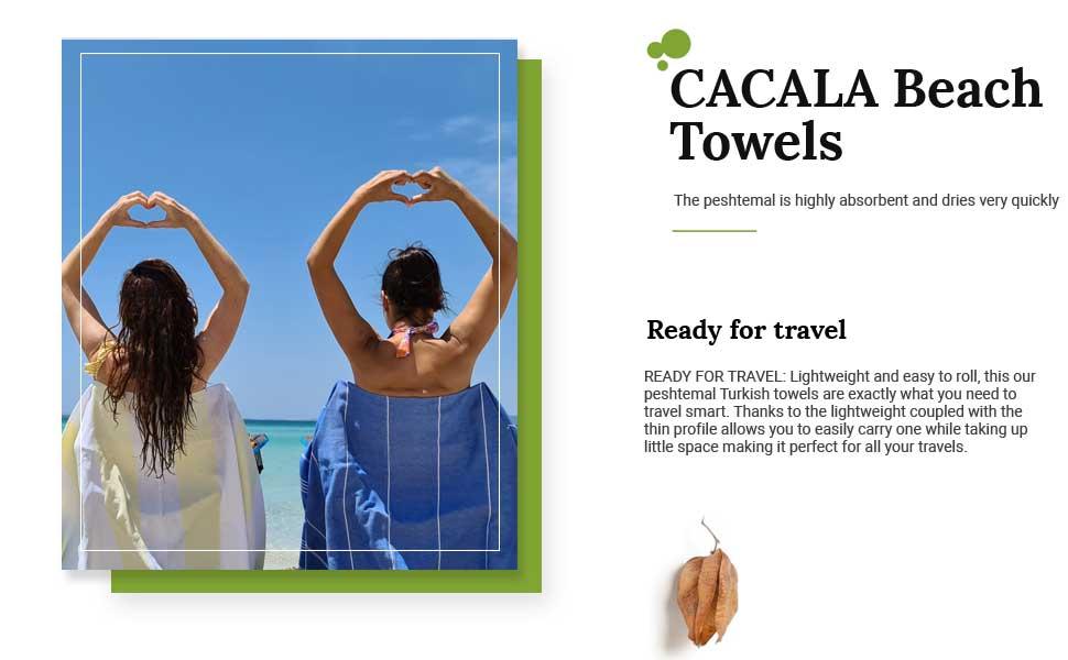 cacala beach towel