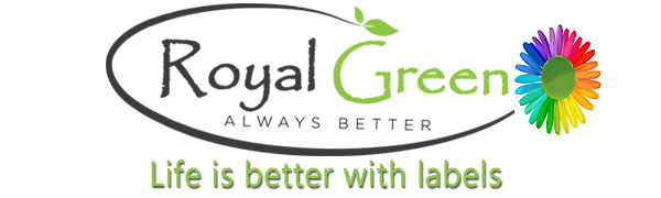 Royal Green offers sticker and labels for all purpose