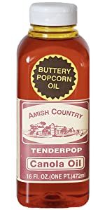 Canola Oil Amish Country Popcorn Toppings Seasonings