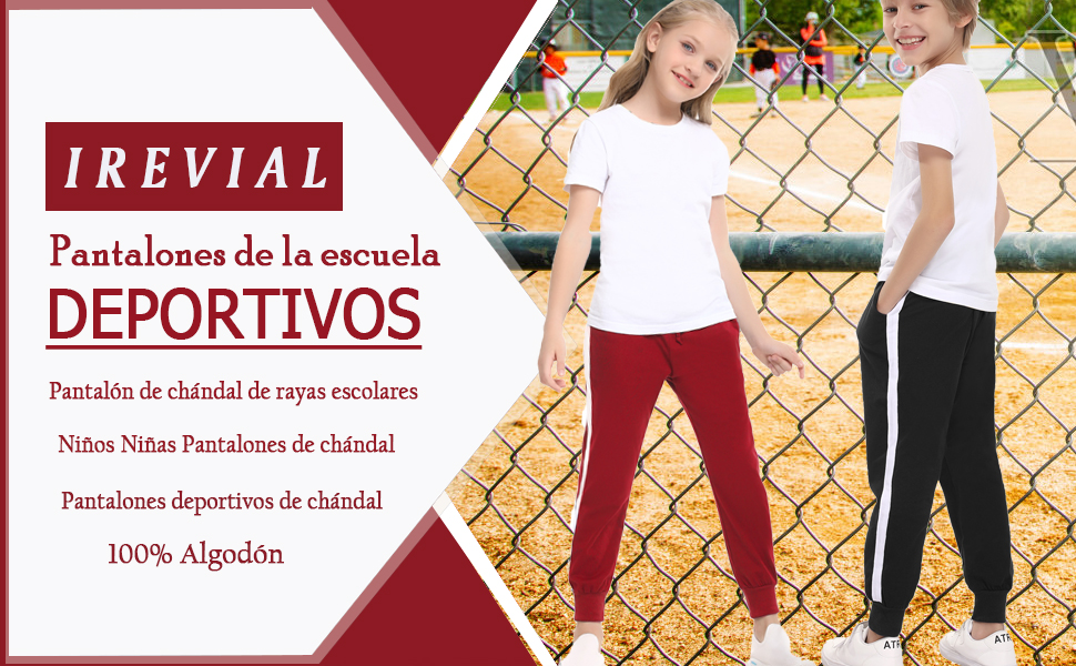 pantalones deportivos niño