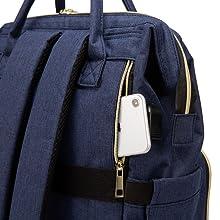 women backpack laptop