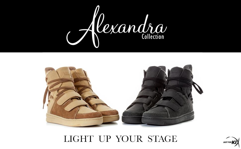 Alexandra high top, tan high top, black high top, lace up high top, lace up fashion shoe,
