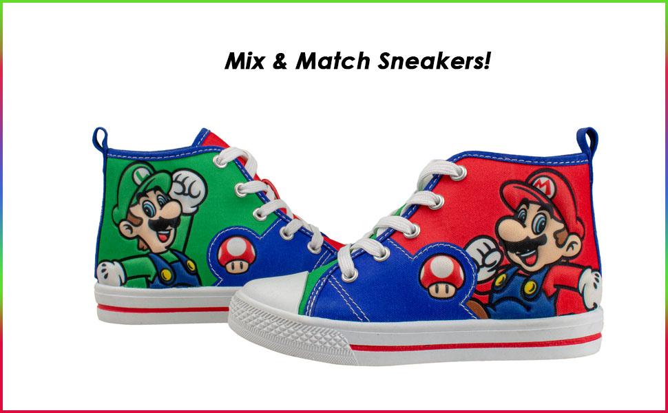 SUPER MARIO Brothers Mario Luigi Kids