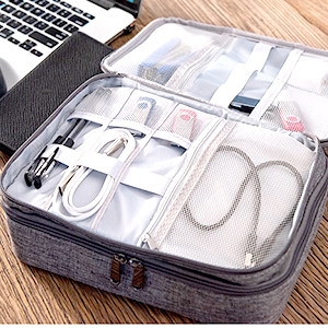 electronics accessories organizer bag