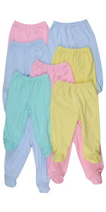 Girl's Pants with Footies