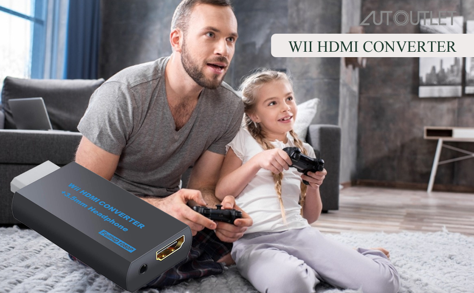 hdmi adapter for wii console