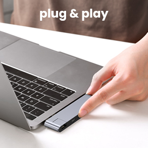 Plug and Play USB C Hub