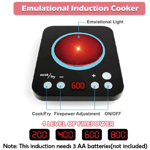 Batteries Induction Realistic Cook Fry Battery Required Sound Light Bright Hours of Fun Enjoy Games
