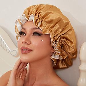 satin bonnet for natural hair