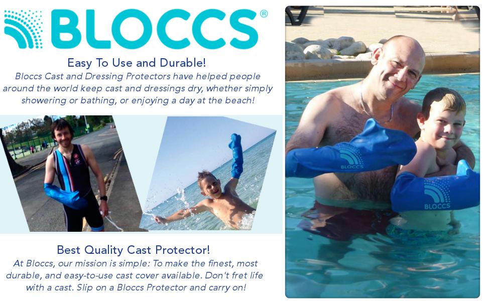 bloccs waterproof arm cast cover