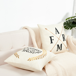 black pillow covers d