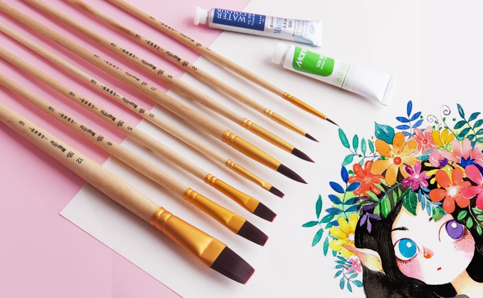 face paint brush kit