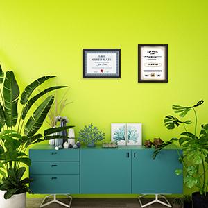 letter frame  8.5x11 document frames 8.5x11 masters degree frame frame for diploma and tassel frame