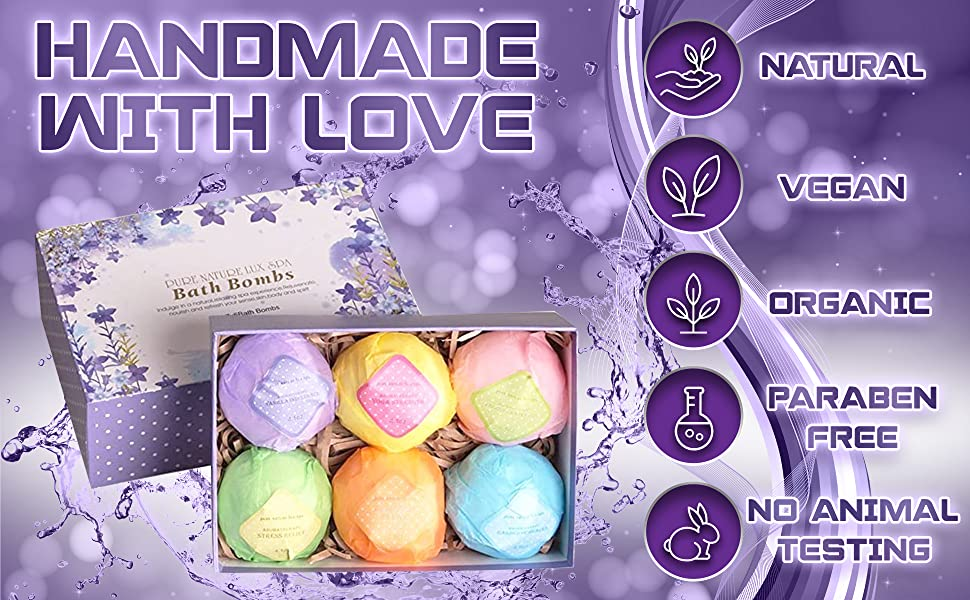 ​ball natural fizzers gift bathbomb she is birthday