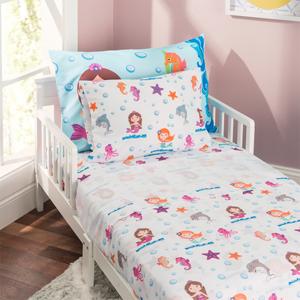 Kids pillowcase, toddler pillowcase, mermaid girls pillowcase