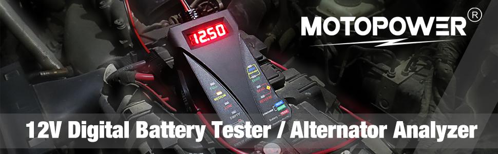 motopower digital battery tester