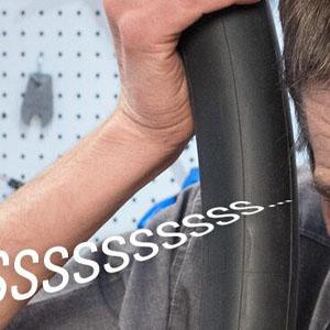 tire tube inspection