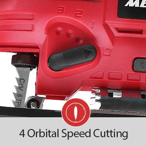 Meterk cordless jig saw for woodworking