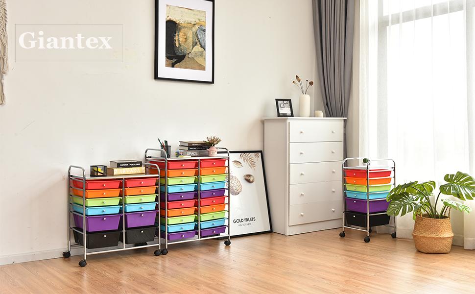 20 storage drawer cart