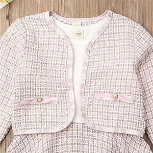 pink jaket coat