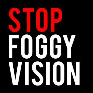 stop, foggy