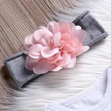 Matching bow headband & hat